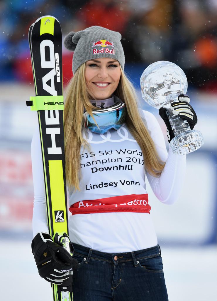 Lindsey Vonn - FIS Alpine Skiing World Cup 2016 in St. Moritz