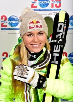 Lindsey Vonn - FIS Alpine World Ski Championships: Day 2 in Beaver Creek