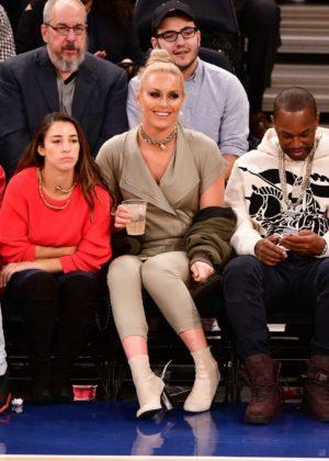 Lindsey Vonn - Houston Rockets Vs New York Knicks game in NYC