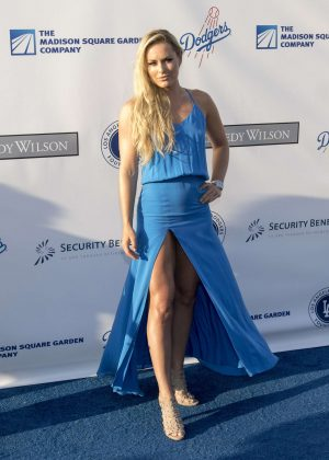 Lindsey Vonn - LA Dodgers Foundation Blue Diamond Gala in Los Angeles