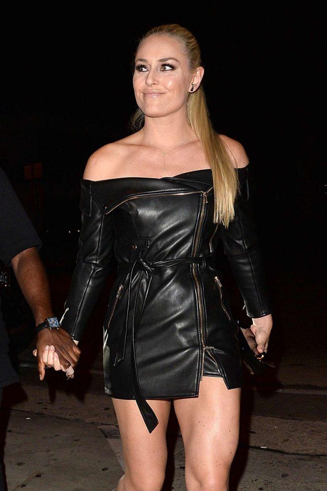 Lindsey Vonn - Leaves 2018 ESPY Awards in Los Angeles