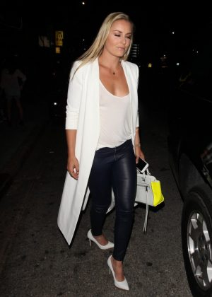 Lindsey Vonn - Leaving Mr. Nice Guy in West Hollywood