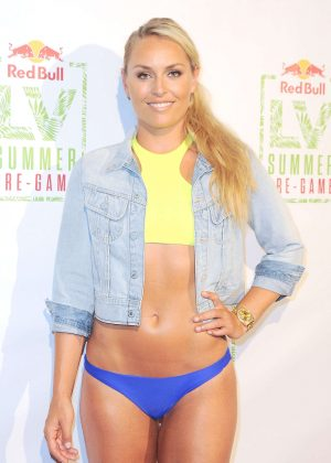 Lindsey Vonn - Lindsey Vonn Summer Pre-Game in Los Angeles