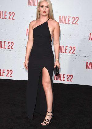 Lindsey Vonn - 'Mile 22' Premiere in Los Angeles