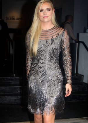Lindsey Vonn - Naeem Khan Fashion Show in New York