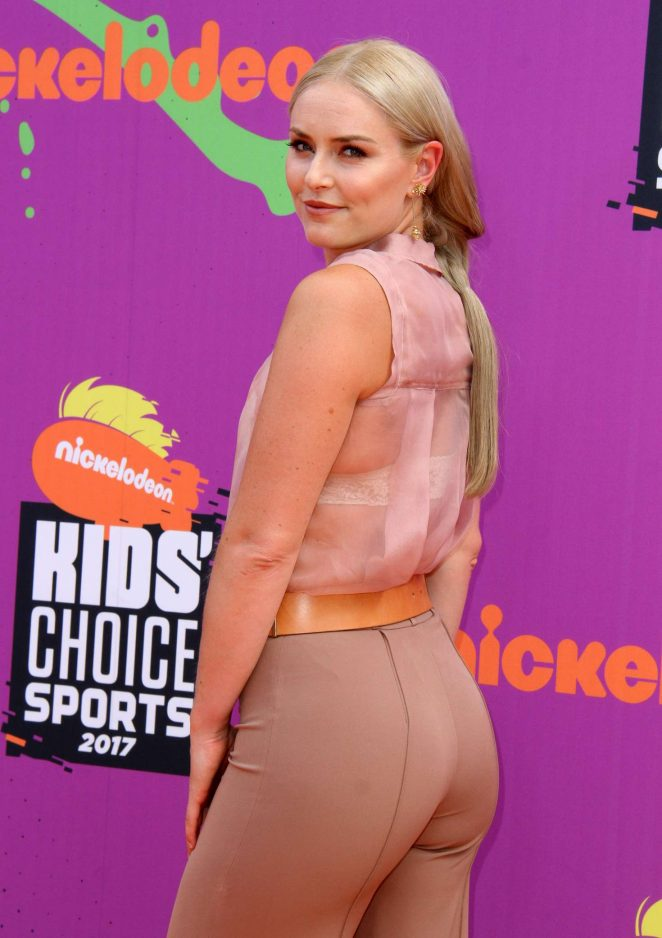Lindsey Vonn - Nickelodeon Kids' Choice Sports Awards 2017 in Los Angeles
