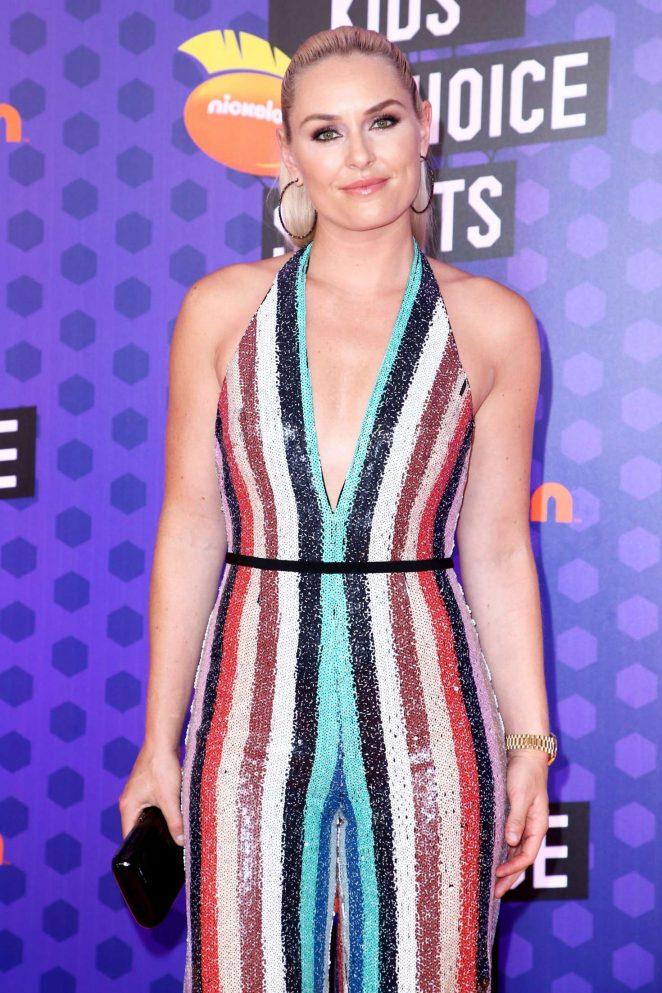 Lindsey Vonn - Nickelodeon Kids' Choice Sports Awards 2018 in Santa Monica