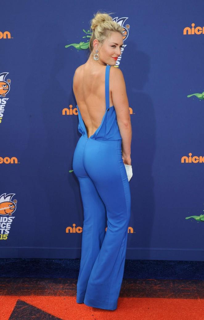 Lindsey Vonn - 2015 Nickelodeon's Kids' Choice Sports Awards in LA
