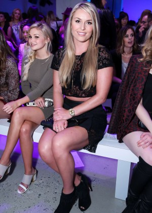 Lindsey Vonn - Rebecca Minkoff Fashion Show at Spring 2016 NYFW in NY