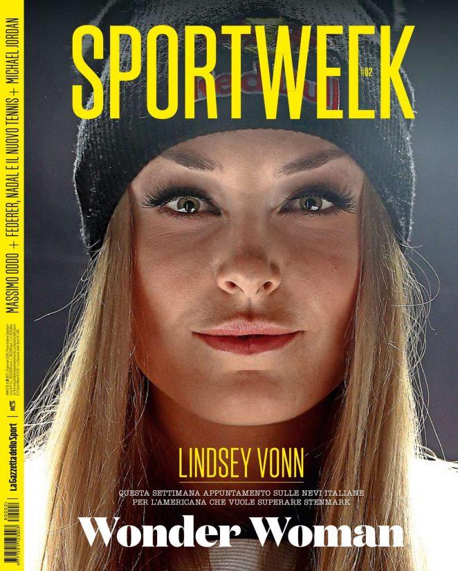 Lindsey Vonn - SportWeek Magazine (January 2018)