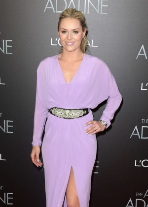 Lindsey Vonn - 'The Age of Adaline' Premiere in NYC