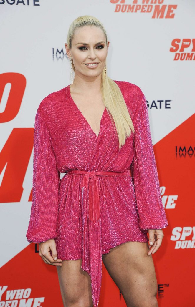 Lindsey Vonn - 'The Spy Who Dumped Me' Premiere in Los Angeles