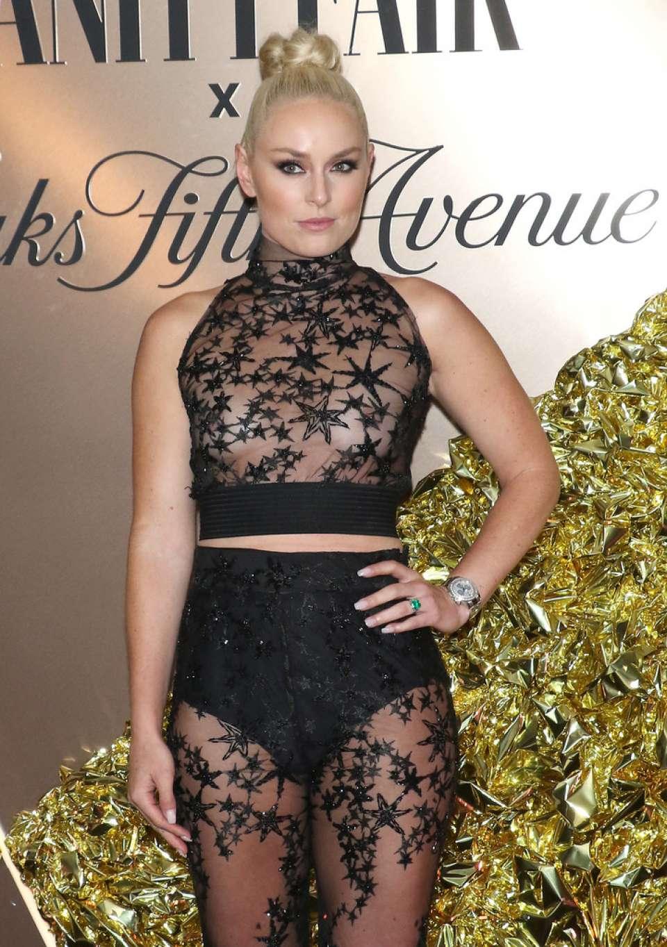 Lindsey Vonn - Vanity Fair's 2019 Best Dressed List in NYC