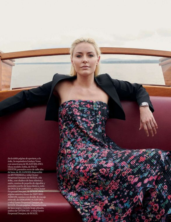 Lindsey Vonn - Vogue Espana Magazine (November 2019)