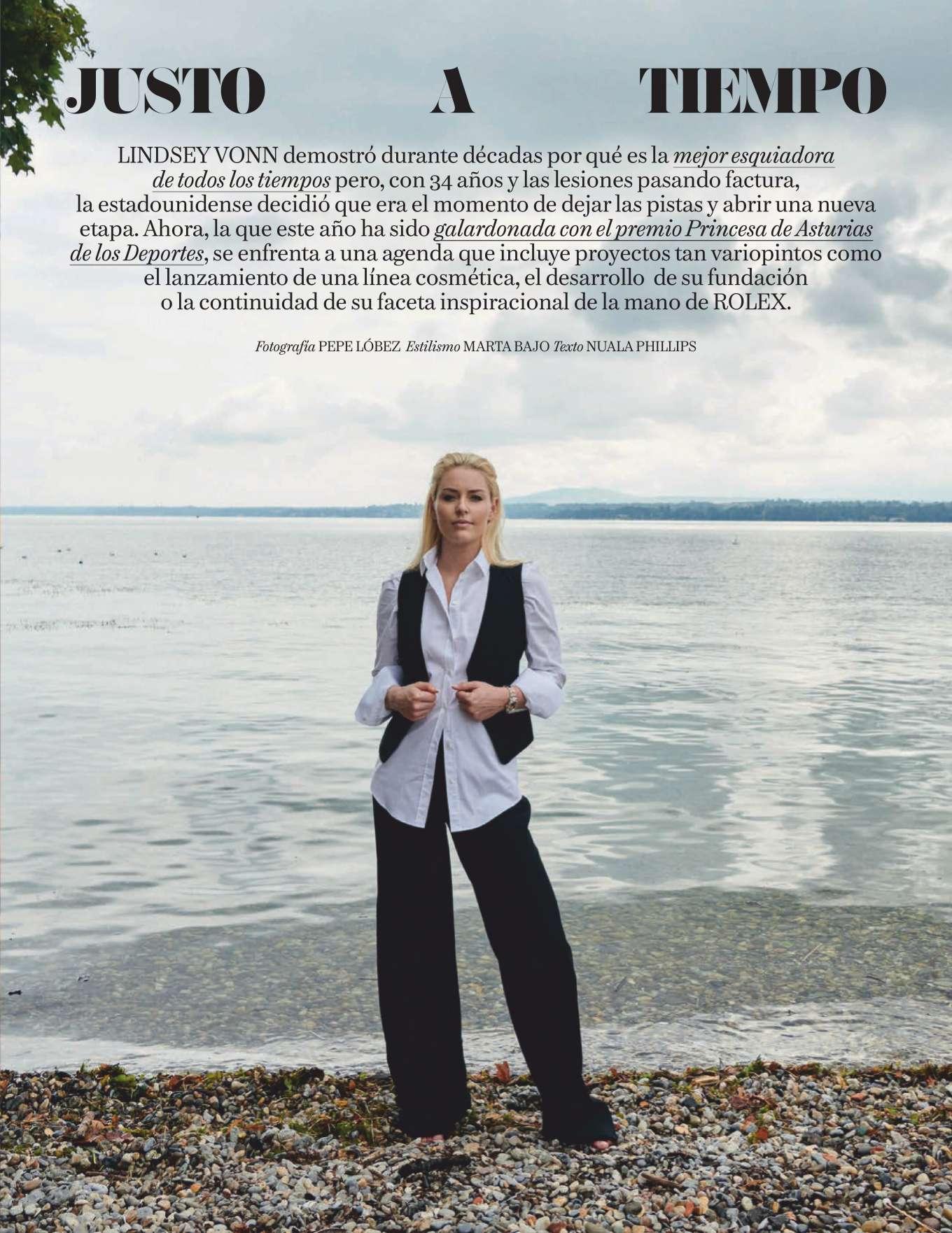 Lindsey Vonn 2019 : Lindsey Vonn – Vogue Espana 2019-04