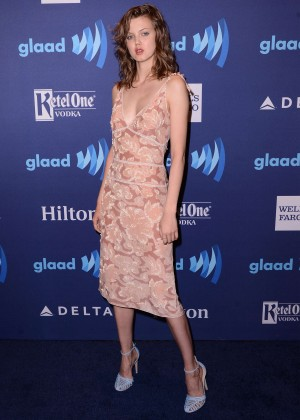 Lindsey Wixson - 2015 GLAAD Media Awards in New York
