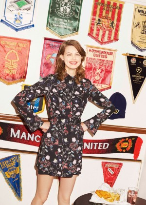 Lindsey Wixson - Bergdorf Goodman Collection (Automn/Winter 2015)
