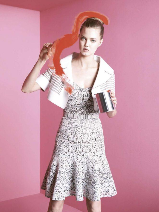 Lindsey Wixson – Bergdorf Goodman Magazine (Spring 2017)