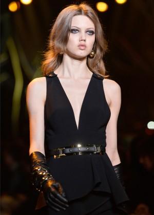 Lindsey Wixson - Elie Saab Fashion Show 2015 in Paris