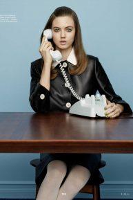 Lindsey Wixson - Elle Russia Magazine (April 2020)