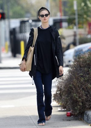 Lindsey Wixson Shopping in Los Angeles