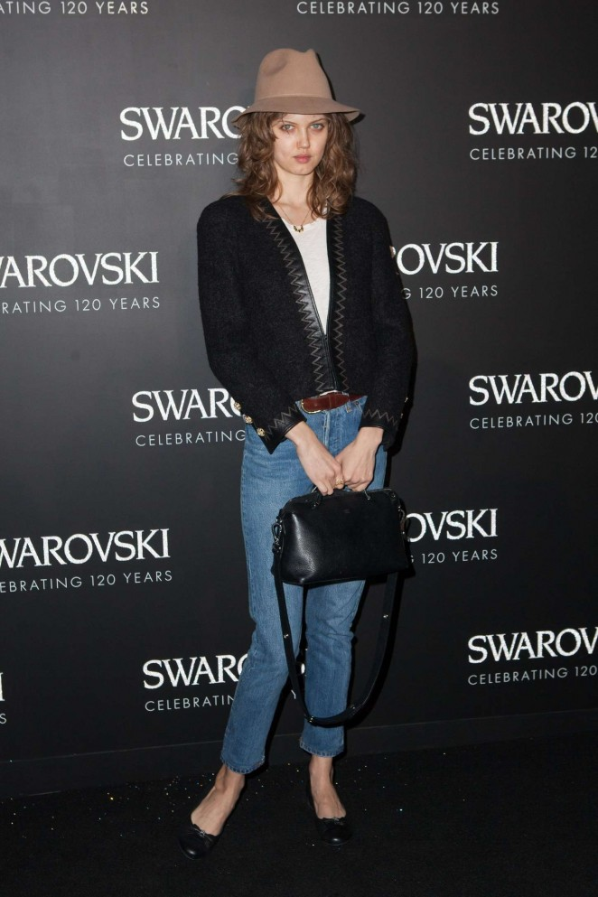 Lindsey Wixson - Swarovski 120 X Rizzoli Exhibition & Cocktail at PFW SS 2016 in Paris