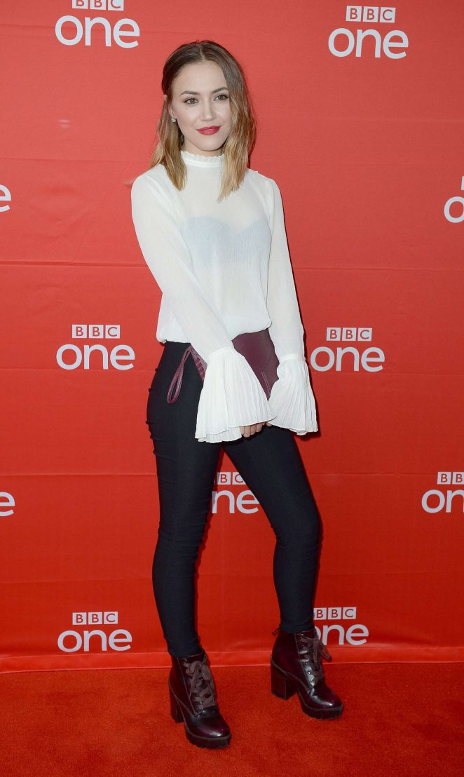Linzey Cocker - 'Our Girl' Screening in Manchester