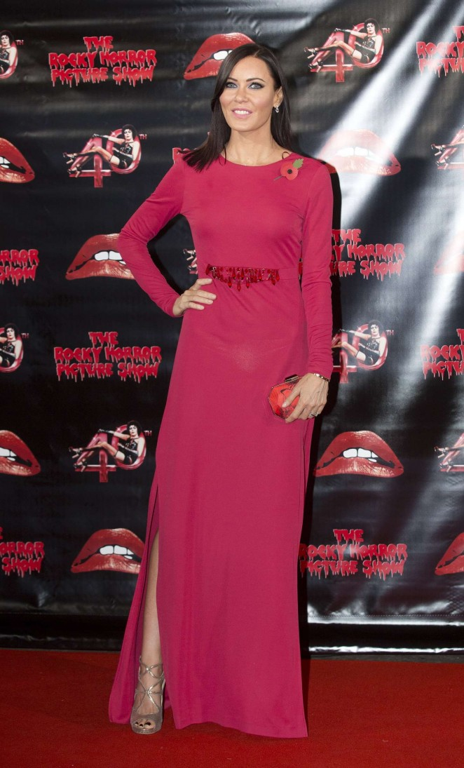 Linzi Stoppard - The Rocky Horror Picture Show: 40th Anniversary Screening in London