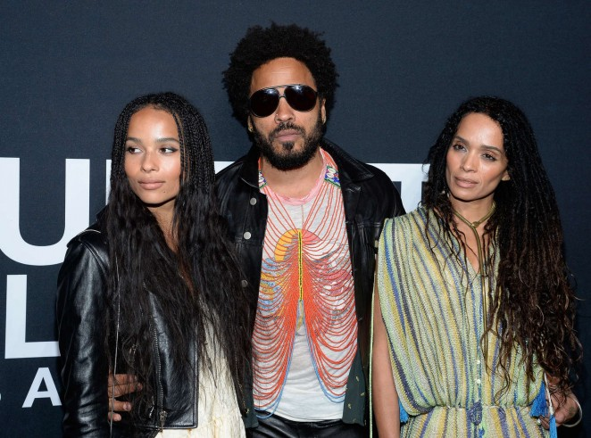 Lisa Bonet: Saint Laurent Show -06