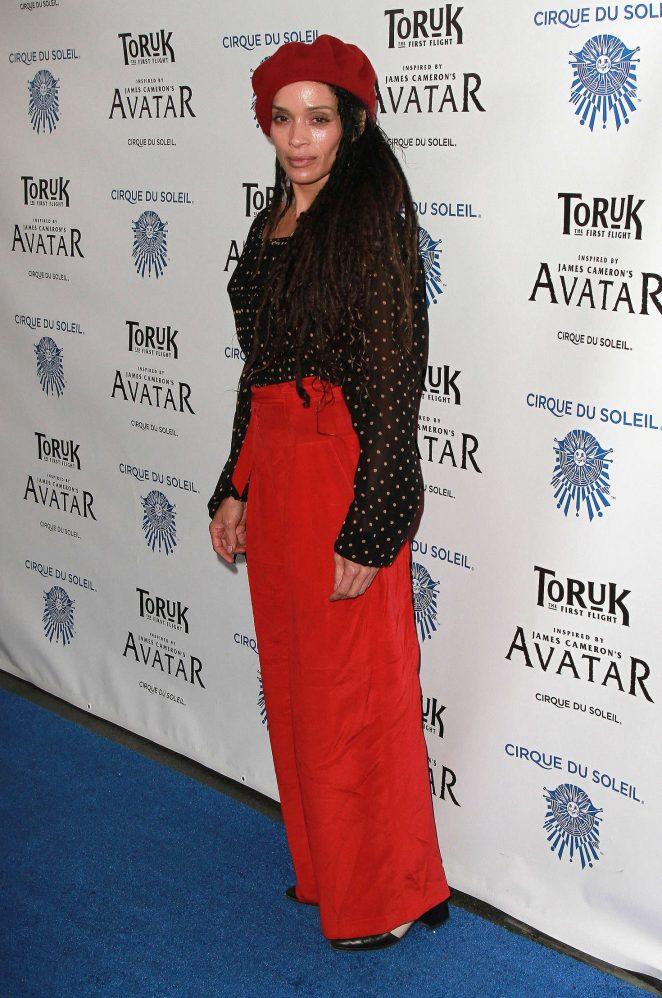 Lisa Bonet - 'Toruk The First Flight' Opening Night in Los Angeles