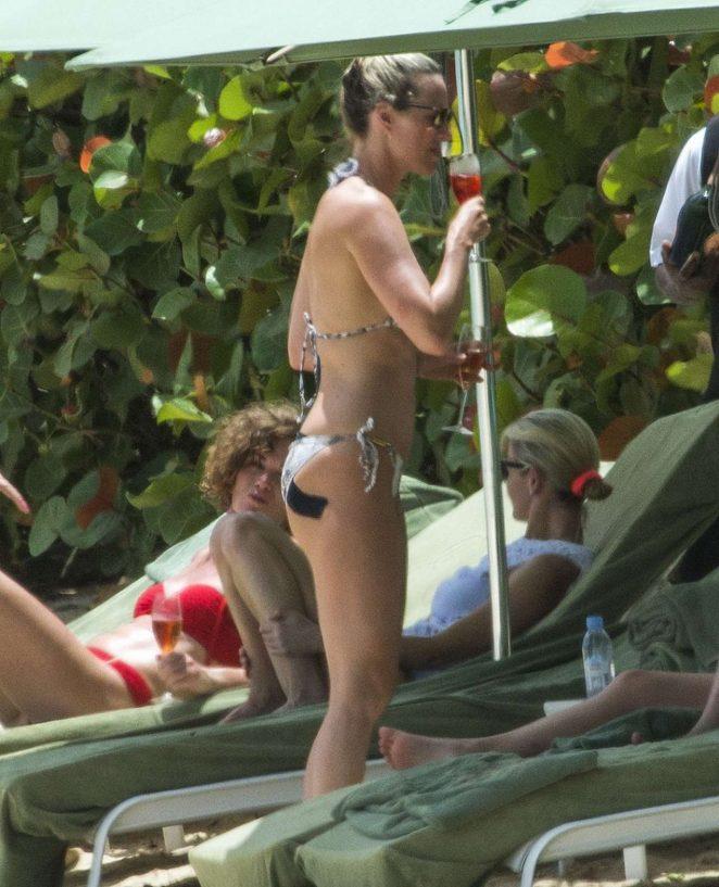 Lisa Carrick - Bikini Candids in Barbados