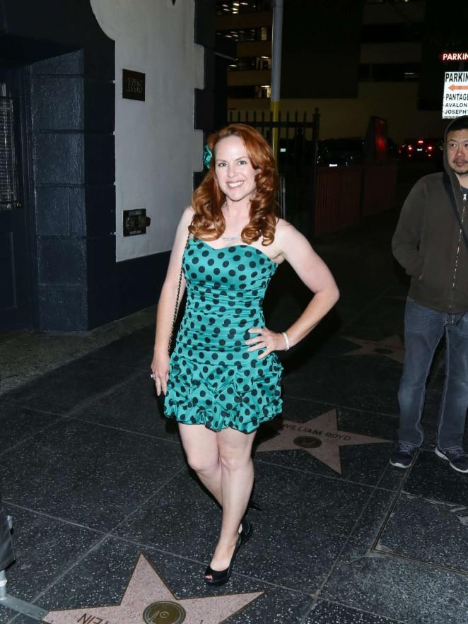 Lisa Cash at Avalon Nightclub in Los Angeles