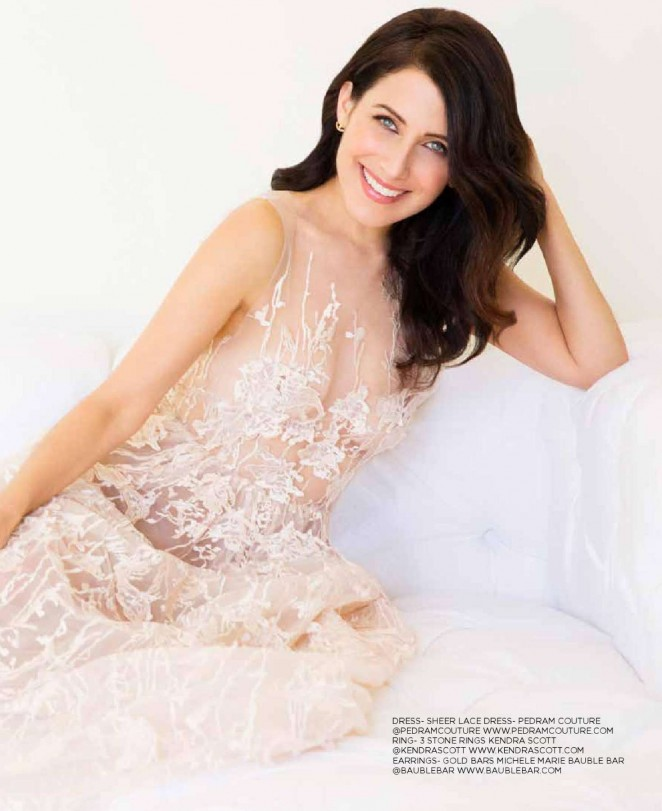 Lisa Edelstein - CV Lux Magazine (March-April 2016)