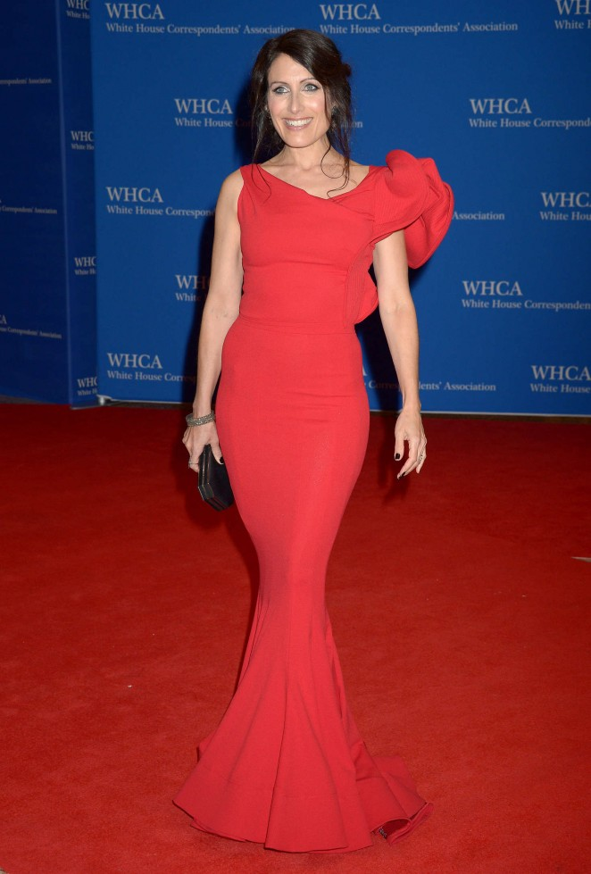 Lisa Edelstein: White House Correspondents Dinner -01