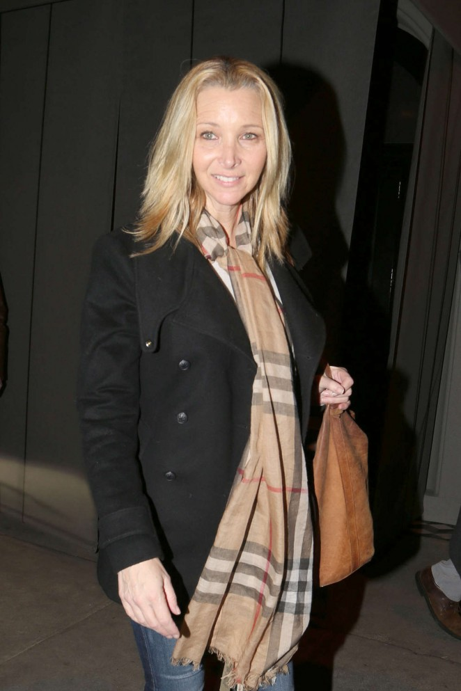 Lisa Kudrow – Leaving Craig's Restuarant in West Hollywood