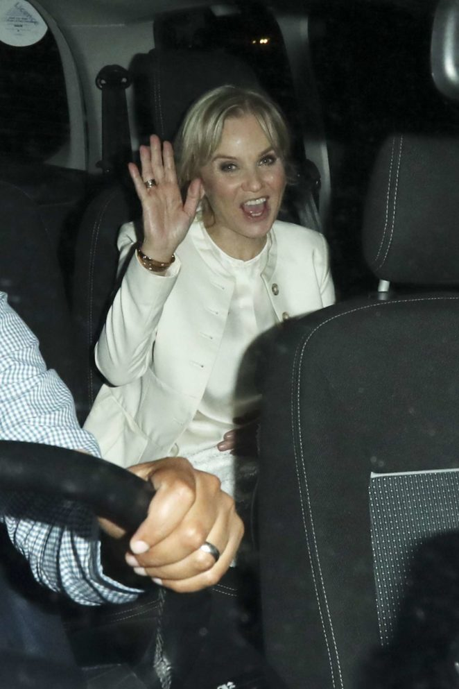 Lisa Maxwell - Arrives at The Best Heroes Awards in London