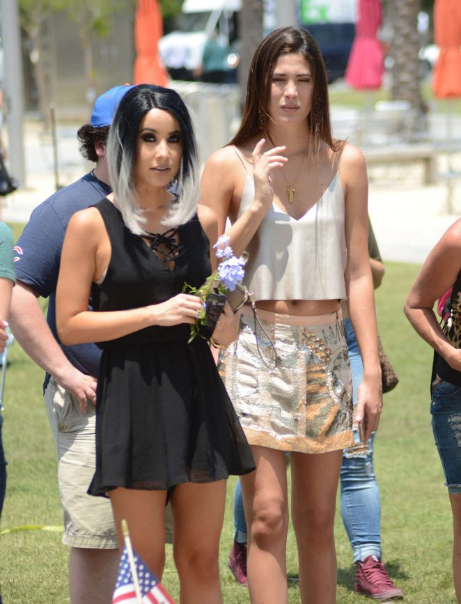 Lisa Opie and Charlotte Trattner out in Orlando