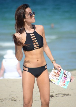 Lisa Opie in Black Bikini -05