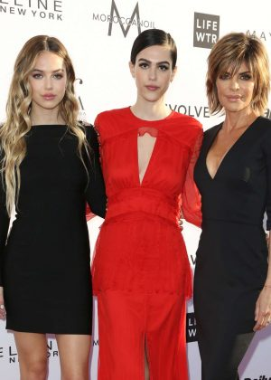 Lisa Rinna, Amelia and Delilah Hamlin- Daily Front Row's 3rd Annual Fashion LA Awards in West Hollywood