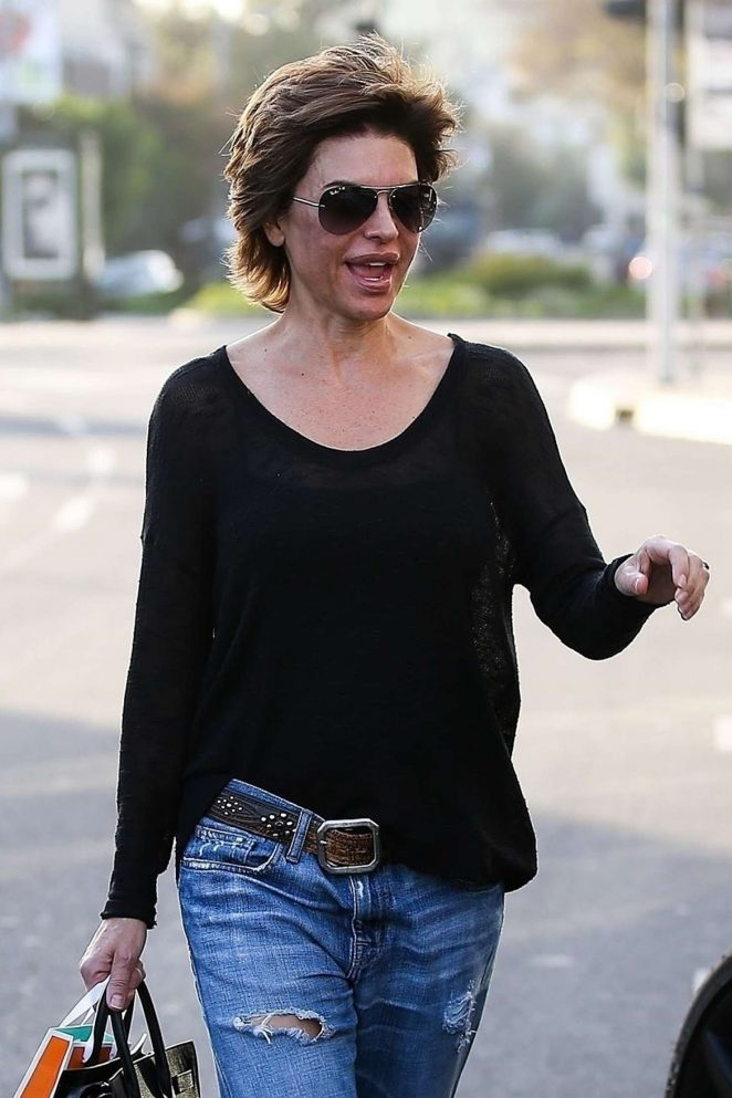 Lisa Rinna at Kate Somerville Spa in West Hollywood