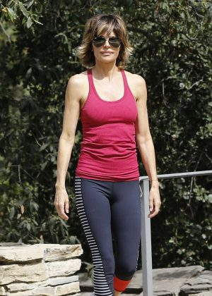 Lisa Rinna - Filming 'Real Housewives of Beverly Hills' in Los Angeles