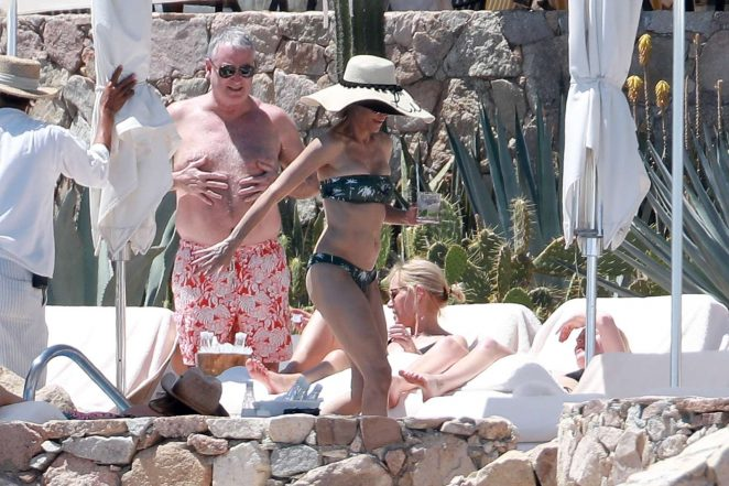 Lisa Rinna in Bikini in Cabo San Lucas
