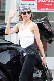 Lisa Rinna - Leaves her Yoga Class in Studio City