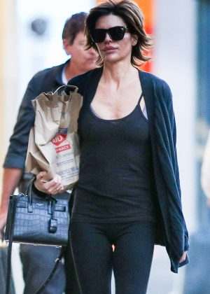 Lisa Rinna - Leaving Rite Aid in Beverly Hills