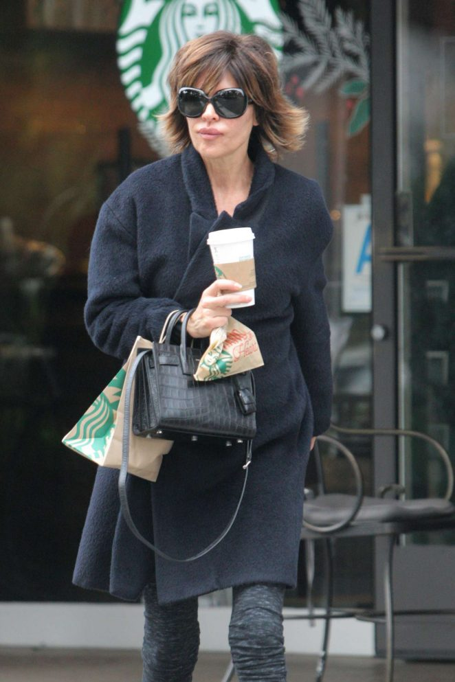 Lisa Rinna out and about in Beverly Hills