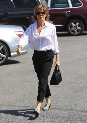 Lisa Rinna - Out in LA