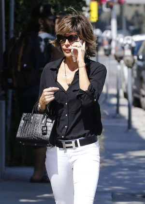 Lisa Rinna out in West Hollywood