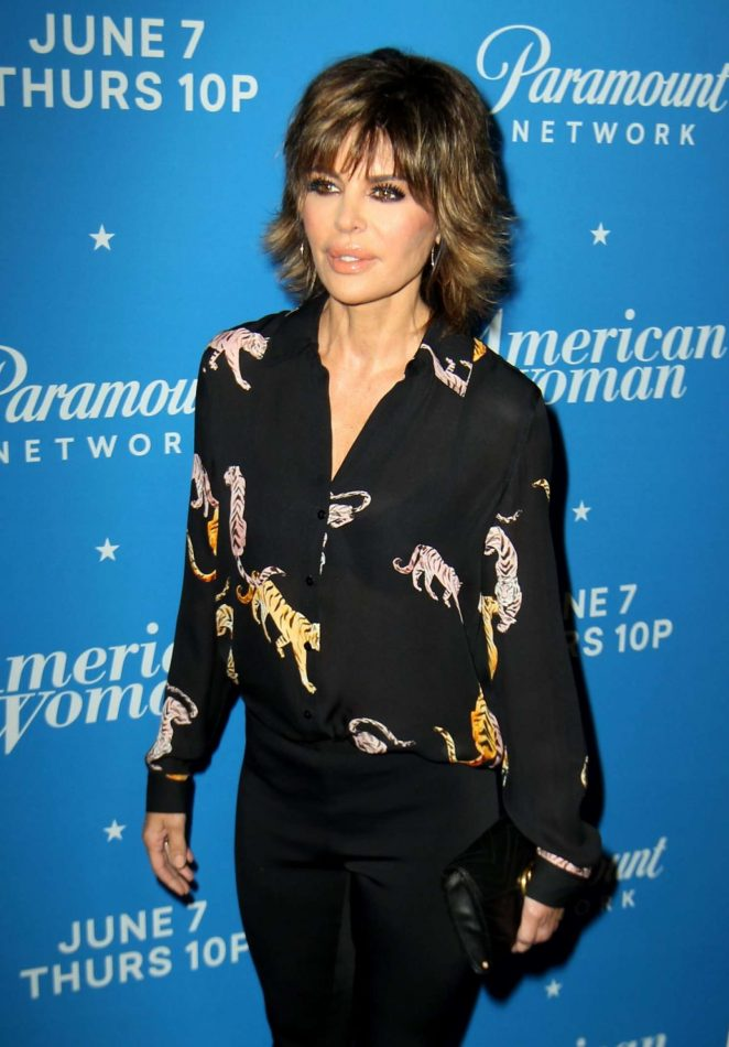 Lisa Rinna – Photocall for American Woman Premiere Party In Los Angeles