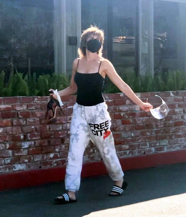 Lisa Rinna - Steps out in Beverly Hills