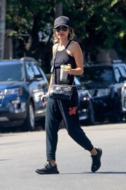 Lisa Rinna - Visit to Kate Somerville Spa in West Hollywood